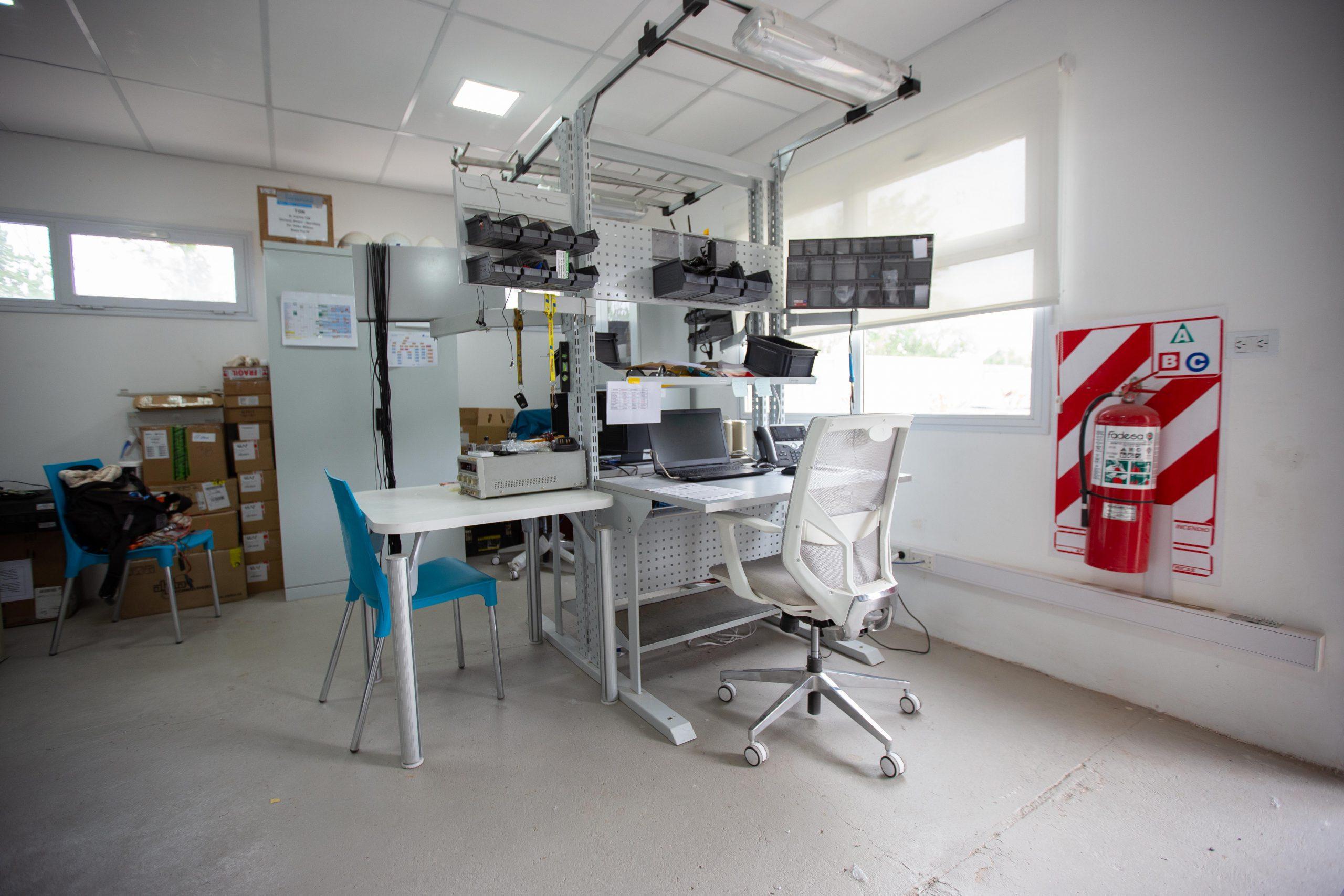 Muebles Activos equipó las oficinas de Transportado del Gas del Norte con muebles de oficina, en Neuquén