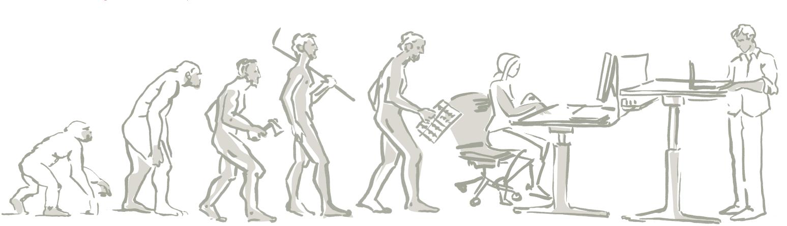 La evolución en el trabajo